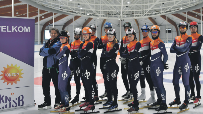shorttrackers Olympische Winterspelen